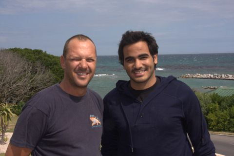 Prince Mohammed Al'thani and Mike Rutzen