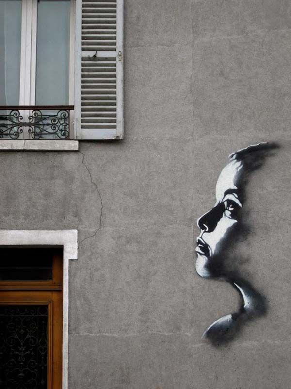 Street art in Vitry, France by C215 | great urban artists, street art online, urban art, graffiti art