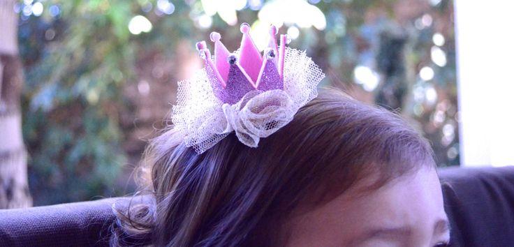 Pink and gold crown, Mini Princess crown hair clip, Baby crown, girl crown, newborn baby crown, Toddler, Birthday crown, Swarovski Crystal by GirlyGirlEnvy on Etsy https://www.etsy.com/listing/201403848/pink-and-gold-crown-mini-princess-crown