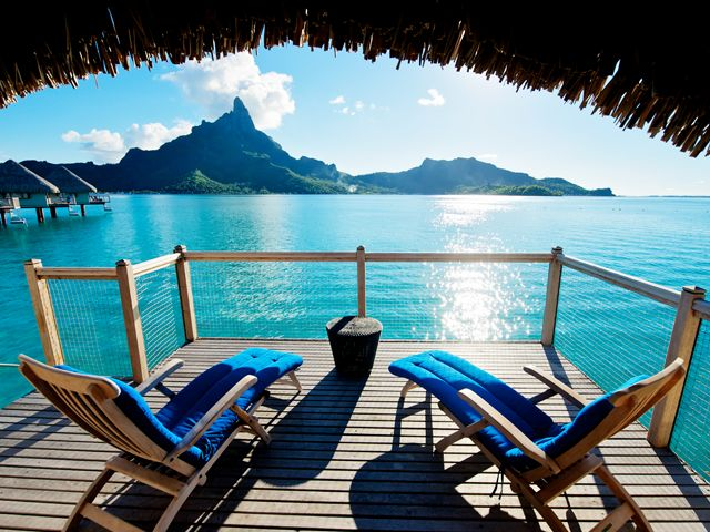 Our guide to the most romantic getaways for couples. #vacation #travel #placestogoPink Summer, Beach House, Favorite Places, Dreams Vacations, The View, French Polynesia, Best Quality, Travel, Borabora
