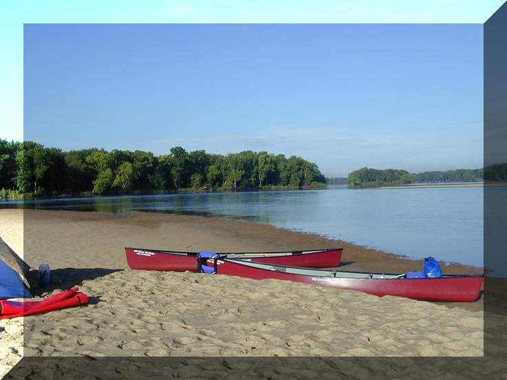 Wisconsin River Outings / Sauk City, WI- Kayaking the Wisconsin River. Sleeping on Sand Dunes.