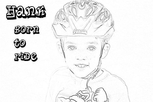 Turn a Picture Into a Coloring Page iPiccycom Love this