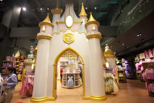 Disney Store in Times Square (from Time Out New York Kids)