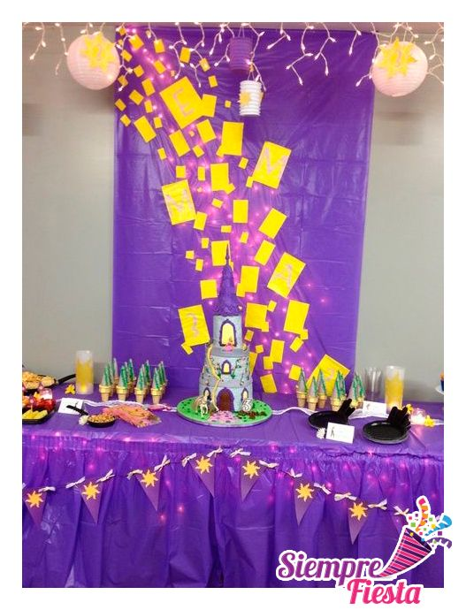 Ideas para fiestas ideas and fiestas on pinterest - Decoracion mesas cumpleanos infantiles ...