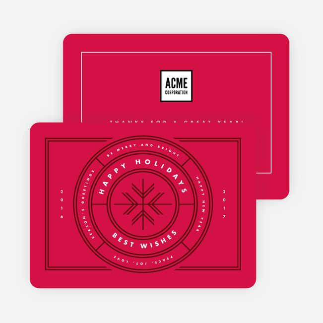 All Around Wishes Corporate Holiday Cards