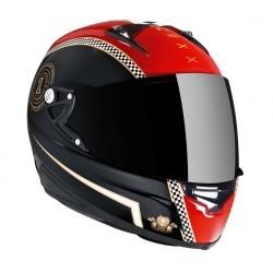 Casco XR1R CAFE RACER ( rojo/negro)