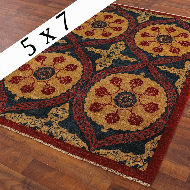 Vintage peshawar rug 5 39 x 7 39 warm rugs and vintage for Warm rugs