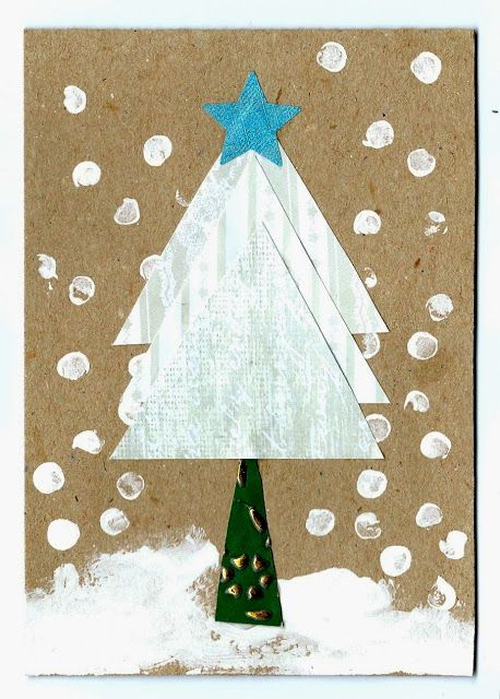 Handmade cards from Mrs Fox's Children's Christmas Crafty Boxes