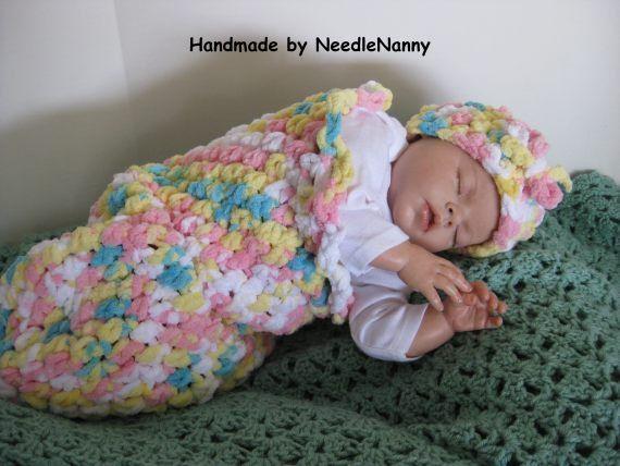 36 best capullos de bebe tejidos images on Pinterest   Patrones de ...