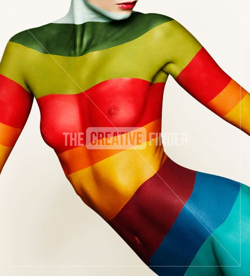 Lovely Rainbow Woman :)www.jackiehardt.com