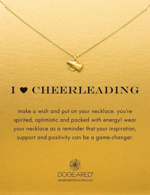 necklace with meaningful message