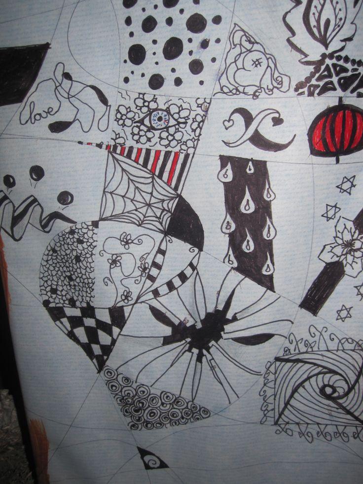 gemaakt door mijn dochter Melissa