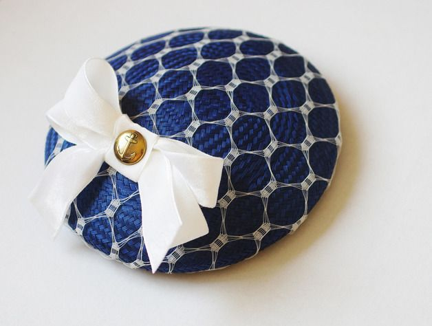 a #nautical fascinator doesn't have to have sailor stripes