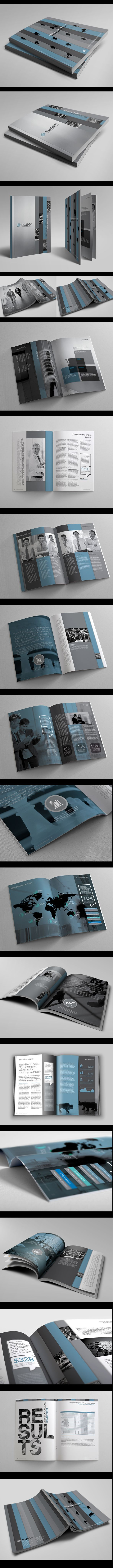 Corporate Business Report Vol.3 on Behance