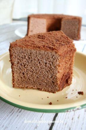 Nutella Chiffon Cake