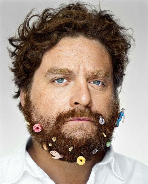 Martin Schoeller | Zach Galifianakis (2009) | Available for Sale | Artsy