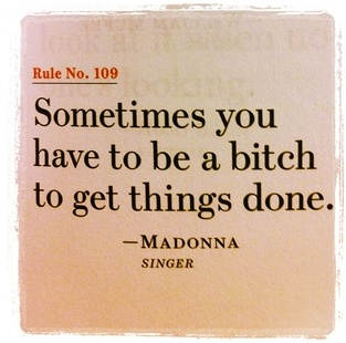 Madonna couldn't agree more! Lol. x