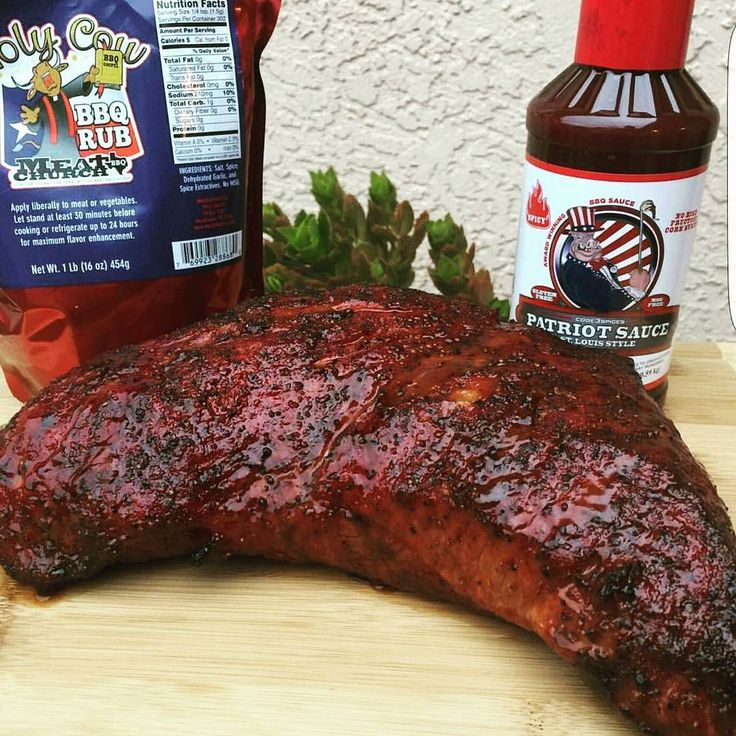 @baddazzbutcher smoked up this colorful tritip and set it off with our Patriot Sauce Spicy. BBQ brother J Kendrick showing us all what's up! Strong work brother! #code3spices