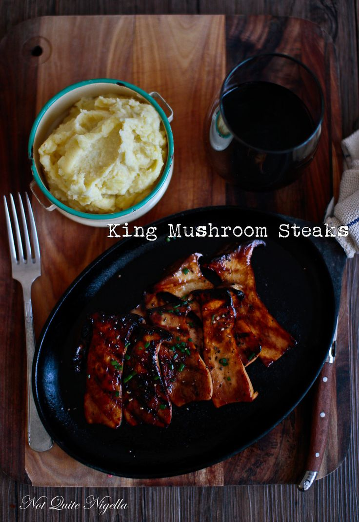 King Mushroom Recipe Steak