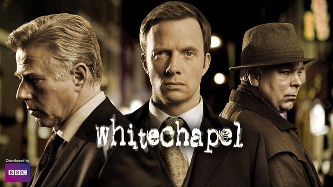 Whitechapel (krimi/gys/drama) Da en moderne morder efterligner Jack the Ripper, slår et hold detektiver og en turguide sig sammen, så han kan blive stillet for retten.