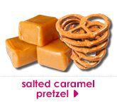 salted caramel pretzel