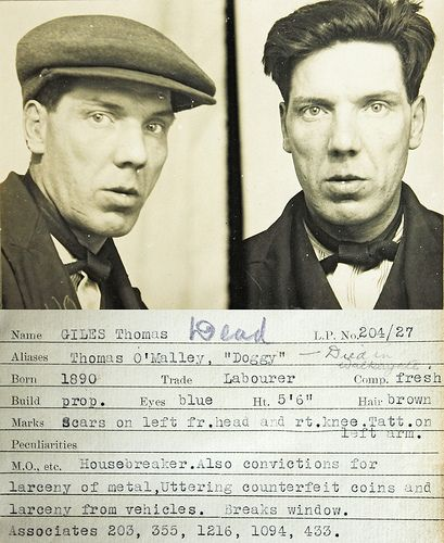 Thomas Giles | This mug shot comes from a police identificat… | Flickr