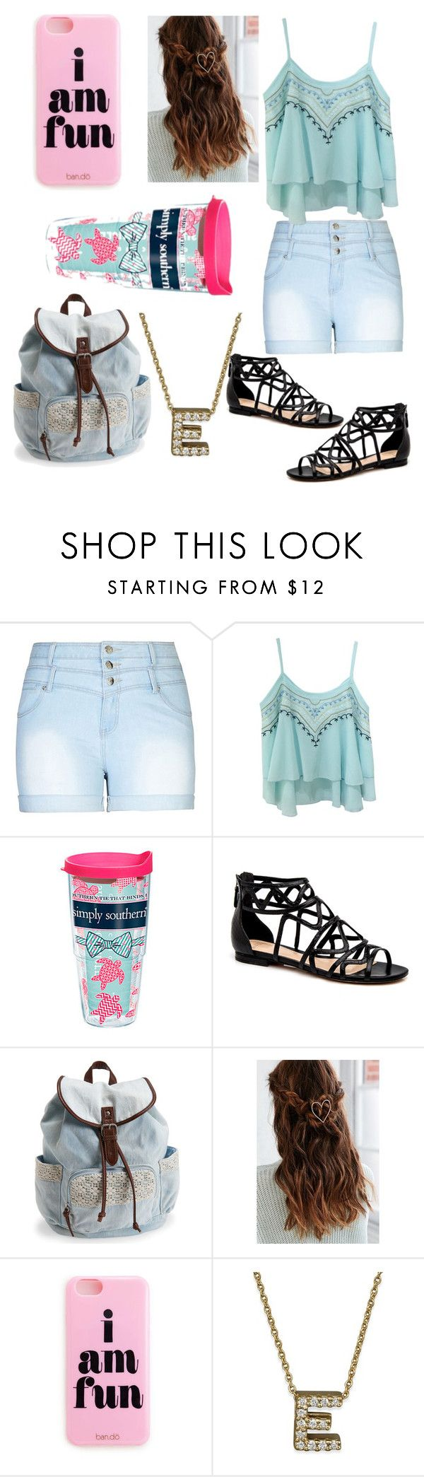"""simply southern"" by evestaylor ❤ liked on Polyvore featuring City Chic, Tervis, Aéropostale, Urban Outfitters, Roberto Coin and plus size clothing"