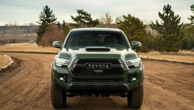 2020 Toyota Tacoma Trd Pro Army Green Review Tacoma Trd Toyota Tacoma Trd Toyota Tacoma