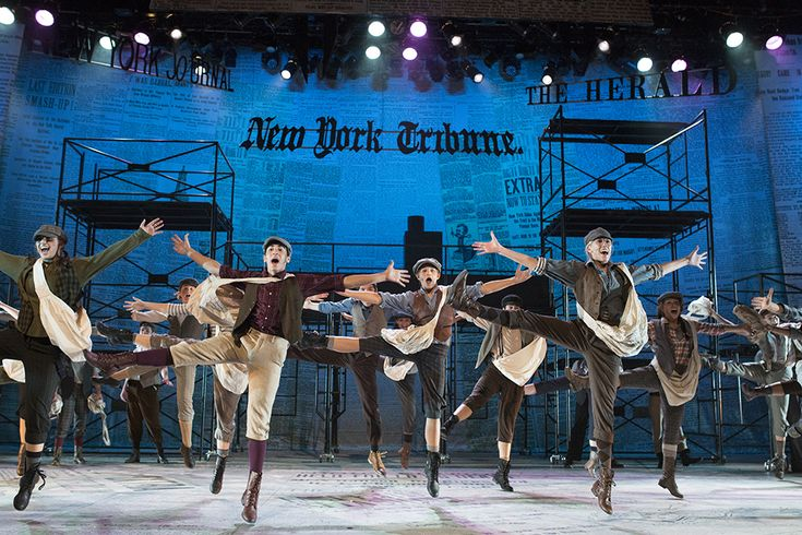 Newsies Makes Big News   the first official high school production of Newsies! So cool!