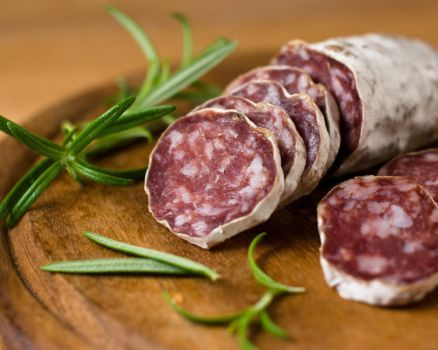 Italian food - Salame della Duja