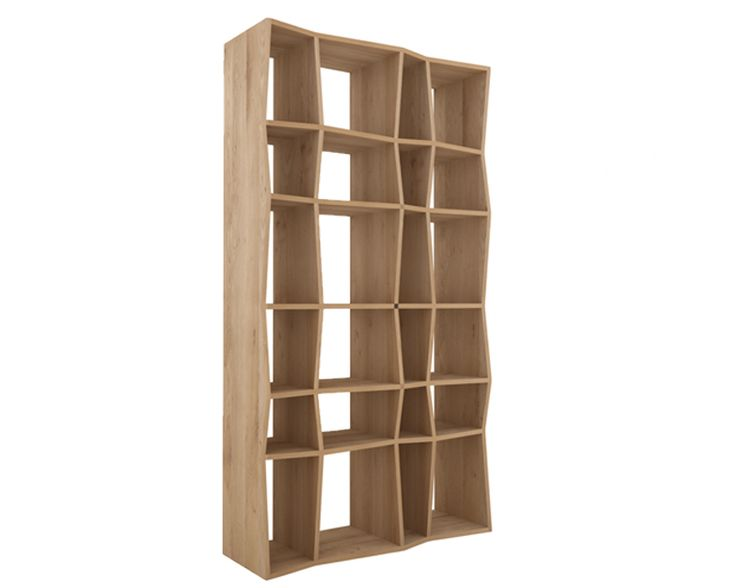 Ethnicraft© - Products » Racks & Mirrors »Oak Z rack
