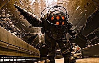 Who Plays the Role as Bioshock Infinite Big Daddy?