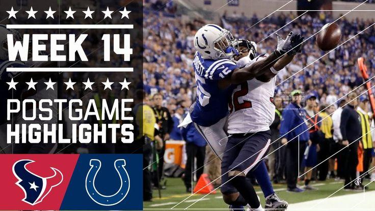 Texans vs. Colts | NFL Week 14 Game Highlights