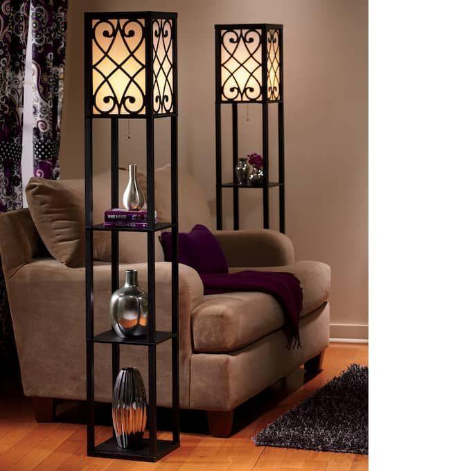 Eurico Floor Lamp With Shelves En 2020 Muebles De Diseno Industrial Diseno De Muebles Muebles Industriales