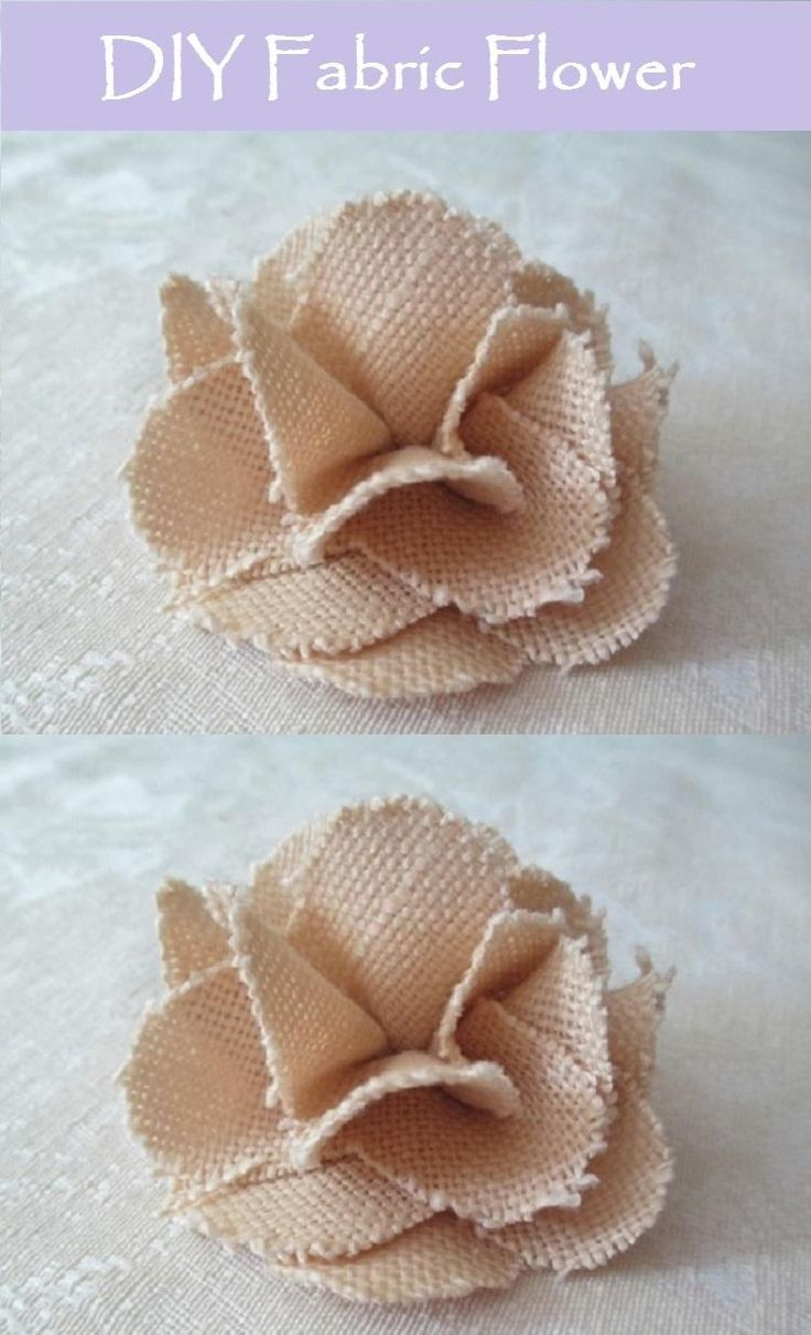 DIY Flowers : DIY Fabric Flower - My Wildflower