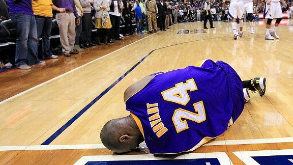 Dissecting that play leading to Kobe Bryant's severe ankle sprain and how the Lakers are forced now to win games without the Mamba.