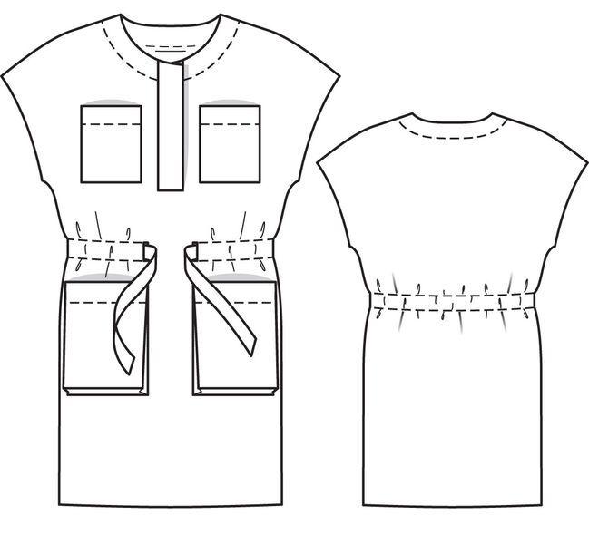 Платье: Burda 4/ 2013/ 110 / Burdastyle