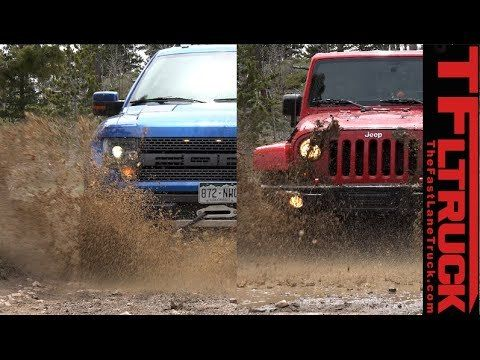 (adsbygoogle = window.adsbygoogle || []).push();           (adsbygoogle = window.adsbygoogle || []).push();  ( http://www.TFLtruck.com ) Watch the Jeep Wrangler Video:  The Ford SVT Raptor is the most off-road worthy truck you used to be able to buy in America. The Jeep Wrangler...