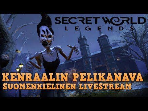 (FI) Secret World Legends  - Suomenkielinen livestream sessio #2