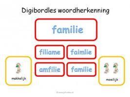 Digibord - Woordherkenning