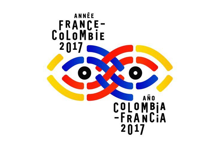 Institut français - Année France Colombie on Behance