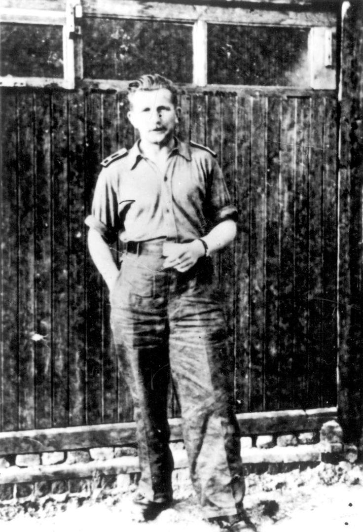 Nowy Sacz, Poland, Gestapo officer Guenter Labitzke.