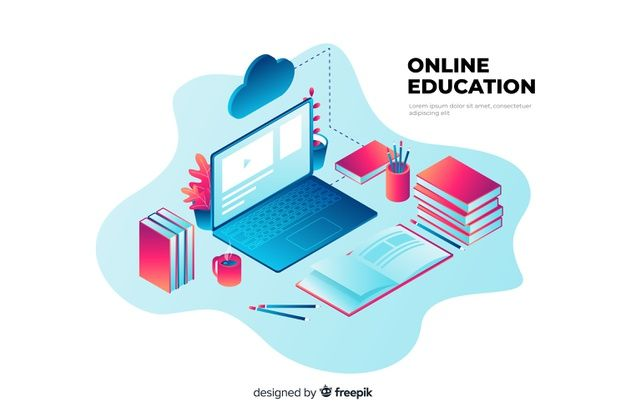 Download Isometric Online Education Concept For Free Education