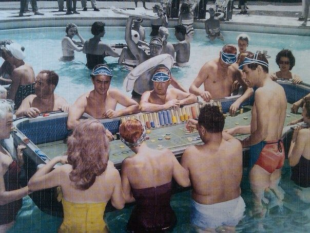 Swim up craps las vegas