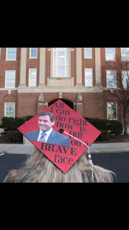 Michael Scott graduation cap #graduationcap #graduation #college #theoffice #michaelscott -