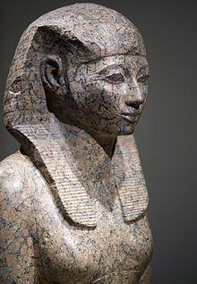 Hatchepsout - Pharaonne d'Egypte - Règne de moins 1479-1457 - Son nom fut martelé puis effacé, par son neveu ou son beau-fils, du monument funéraire qu'elle se fit construire. Femme effacée de l'HIStoire.