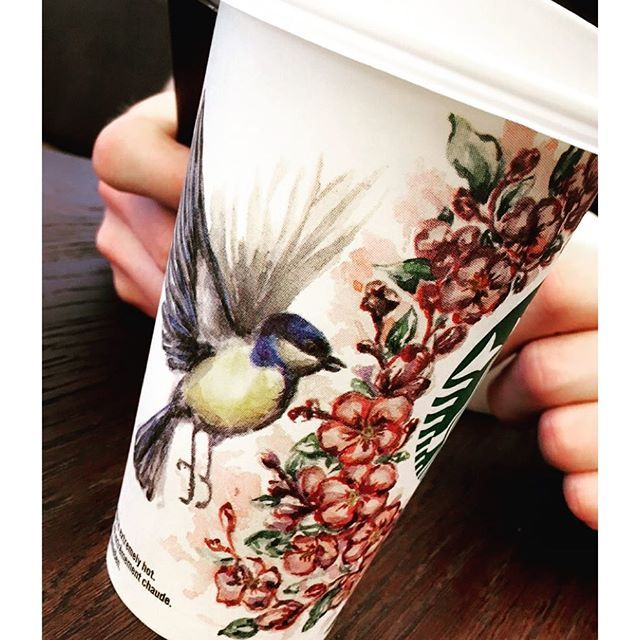 cute spring cup