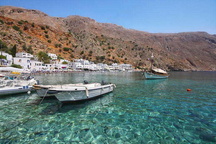 Dans la baie de #Loutro. #Grèce #Crète