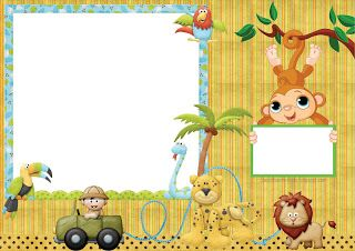 Jungle Babies  Free Printable Kit.