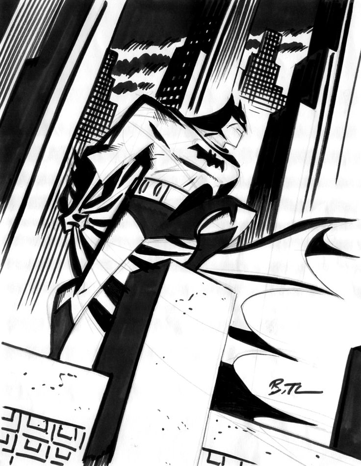 Batman By Bruce Timm